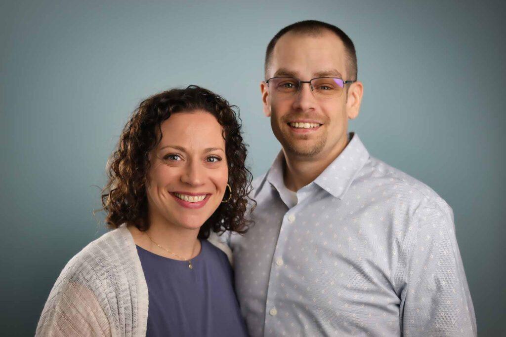 Dr. Jonathan Zwerka and Erika Hickey